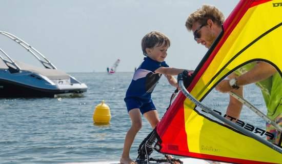 Kurs Windsurfingu dla Dzieci